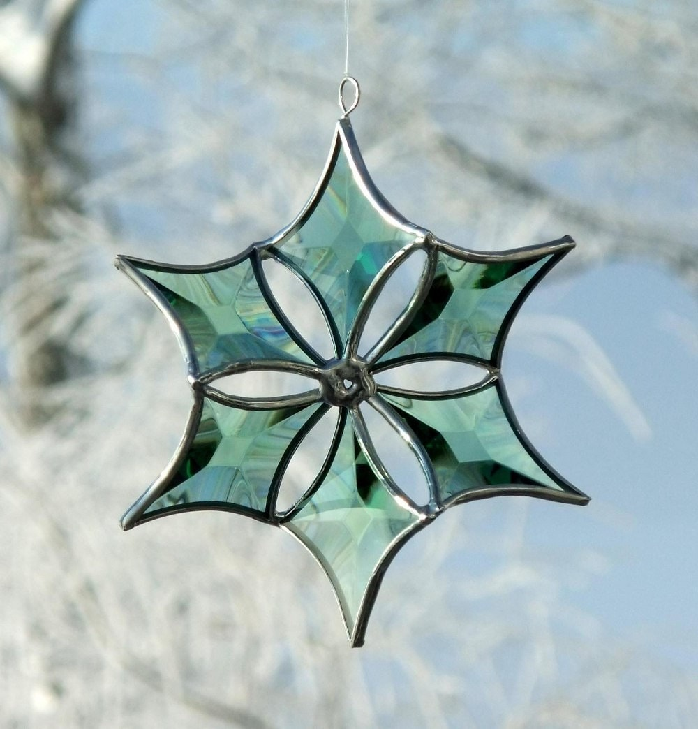 Christmas Stained Glass Ornaments Part - 46: ?zoom