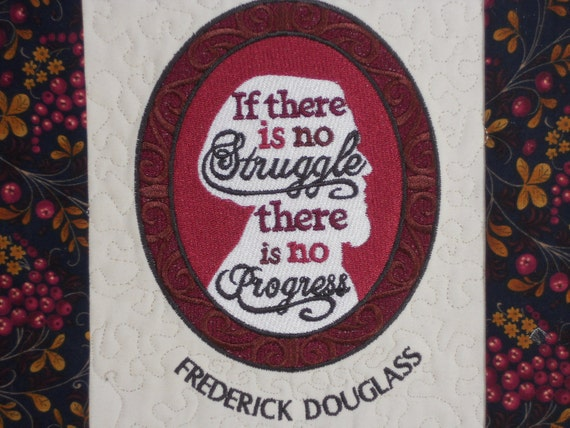 African American History Wall Hanging, Frederick Douglass