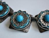 Vintage Bohemian Turquoise Necklace