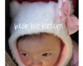 fleece bear hat sewing pattern