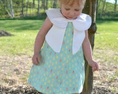 The Wendy dress- Sewing pattern- double peter pan collar