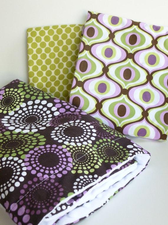 Blanket and Crib Sheet Set: Feeling Groovy