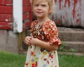 Sale, The moda peasant top, sizes 12/18 mos, 2T, 3T, 4T, 5 and 6