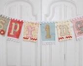 Reusable Spring Fabric Banner