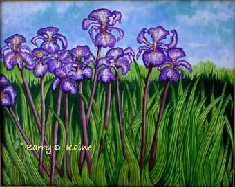 Irises v.2 print