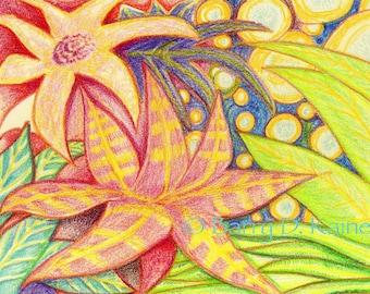 Magic Garden v3 print