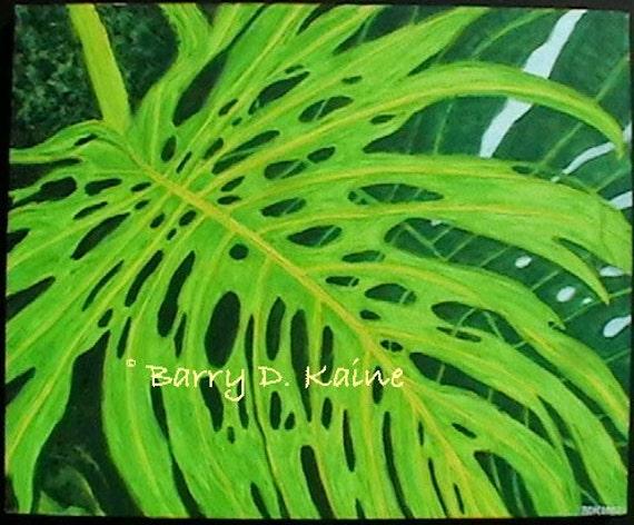 Monstera Leaf v.1 Print