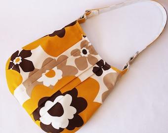 Shoulder bag - yellow flower