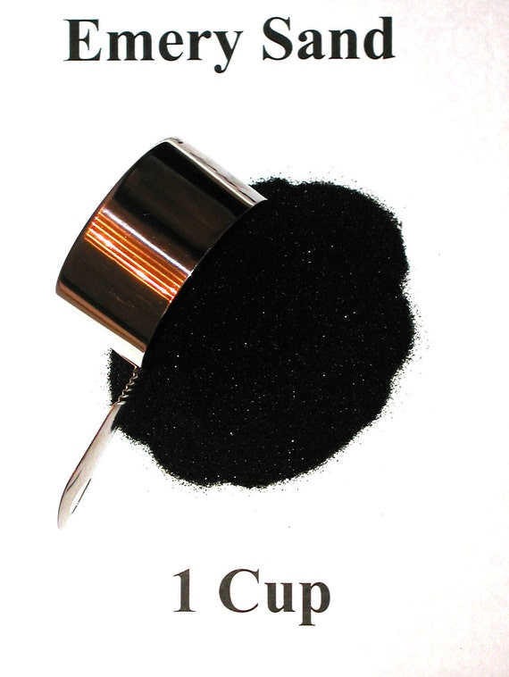 Reserved 1 Cup Loose Emery Sand for making your own Pincushions-An abrasive to keep your pins sharp.
