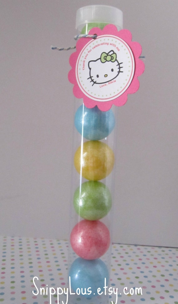 Large Gumball Tubes, set of 12