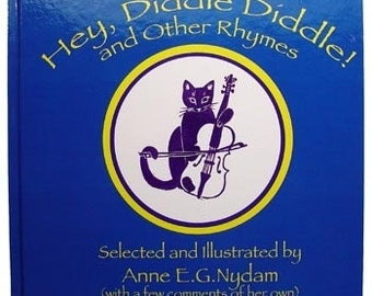nursery rhyme book - Hey, Diddle Diddle