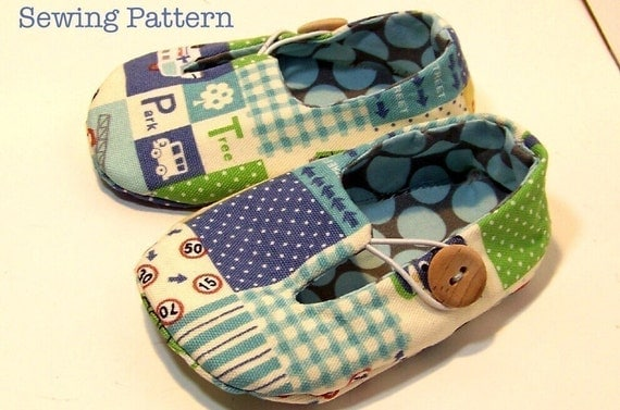 Jack and Jill Loafers Baby Shoes PDF SEWING by LivingDIYStyle
