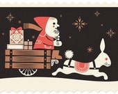 Pigeon Post Holiday Series I / The Rabbit Carriage