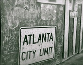"Travel Photography, Atlanta- 4"" x 6"" Original Signed Fine Art Photograph"