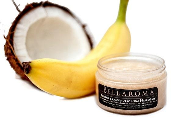 Banana and Coconut Manna- HAIR MASK SMOOTHIE