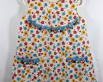 Darling little dress with embelished beads