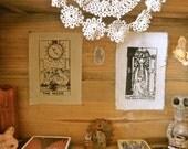 The High Priestess Tarot Card Patch Print
