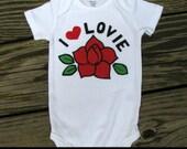 Custom Baby Clothes, Onesie