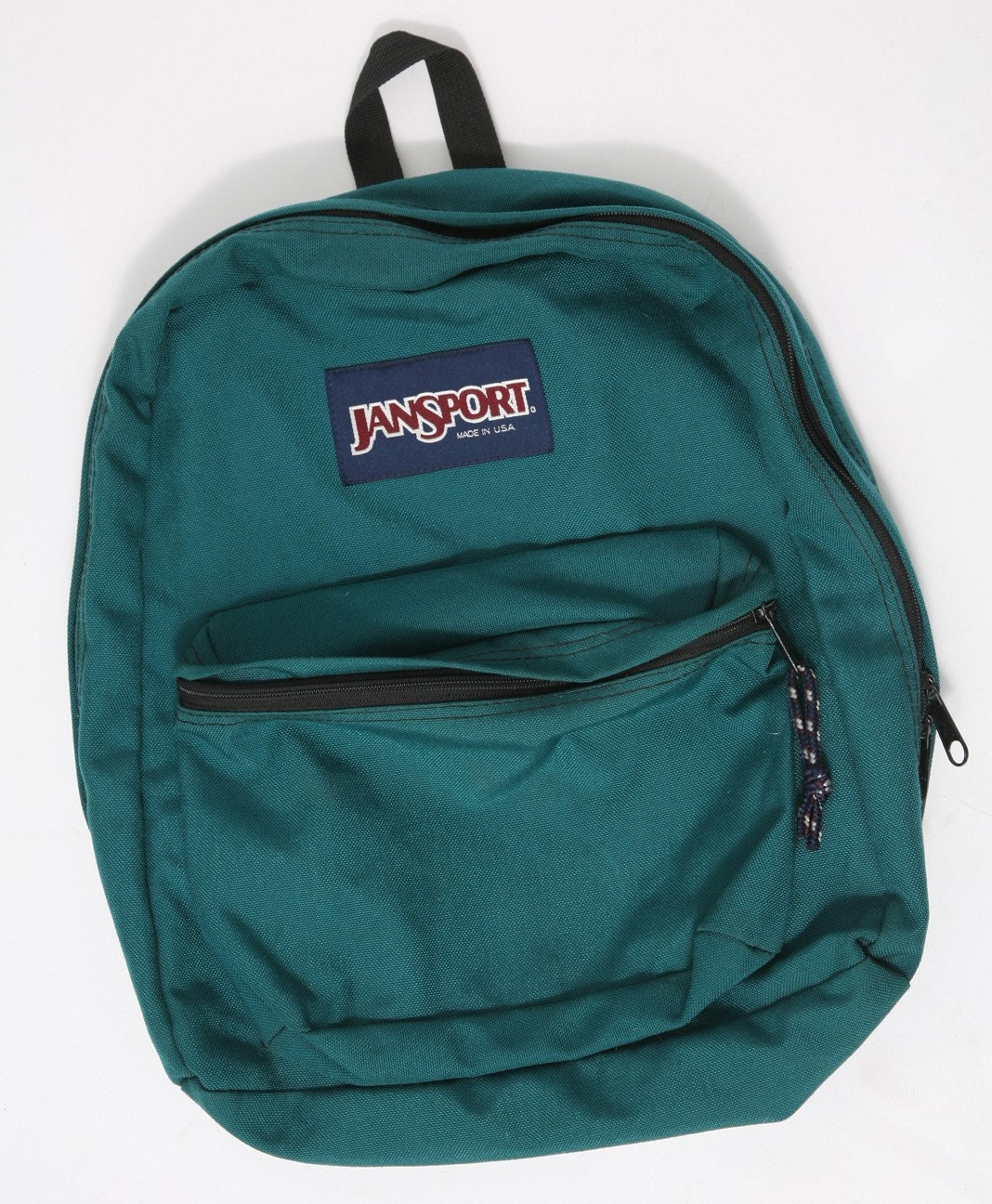 Teal Jansport Backpack Made in USA