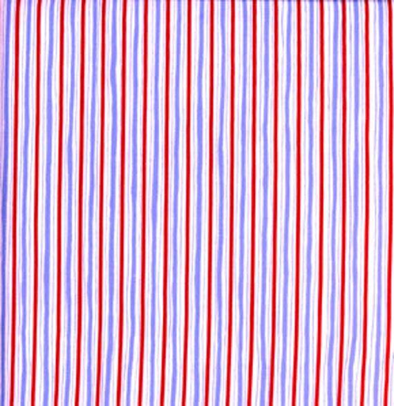 1 Yard of Royal Stripe Quilt Fabric Free Spirit Fabrics df02 royal