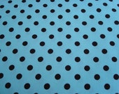 Aqua Dumb Dots Fabric by Michael Miller - 1 Yard