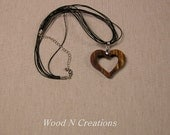 Heart Shaped Pendant Necklace - Romantic Gift - Valentine - Love Symbol