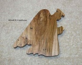 Wooden Angel Decoration - Home or Office Decor - Christmas Decor