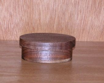 Jewelry Trinket Box Oval Shape - Vanity Accessory - Desktop Accessory - Jewelry Holder