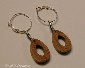 Earrings  - Dangle with a Droplet Shape