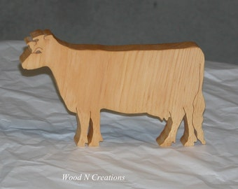 Trivet or Home Decor - Cow Shape for Country Kitchen