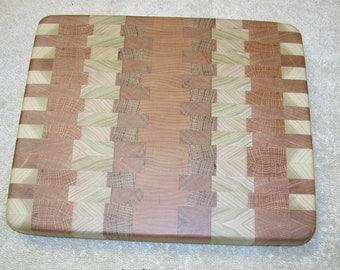 Wooden Cutting Board Subtle Kitchen Decor in Smaller Size