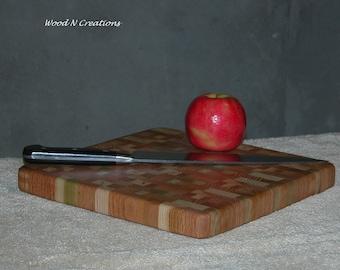 Cutting Board with Cherry Wood - Endgrain Hardwoods