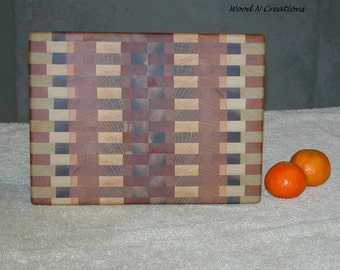 Cutting Board with Interesting Walnut Pattern