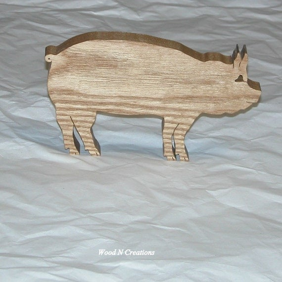 Pig Shaped Trivet - Country Kitchen Decor - Home Decor - Animal Decor