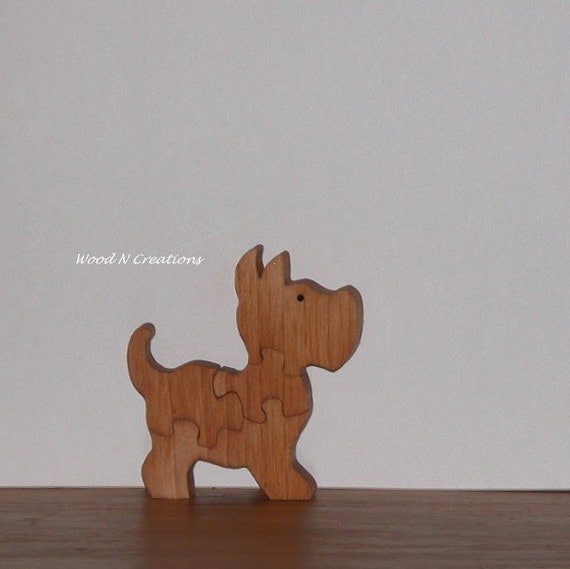 Wooden Dog Puzzle for Child