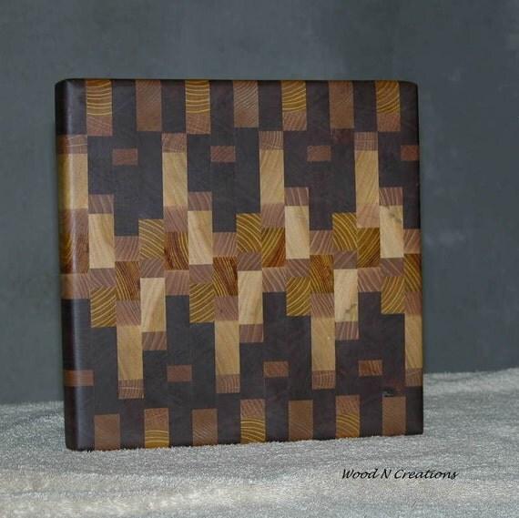 Cutting Board Cheese or Sandwich Board - Striking Osage Orange Wood Included
