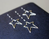 Embroidered Falling Stars pocket journal cahier notebook (Moleskine)