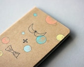 Hand Drawn Pocket Journal Cahier Notebook (Moleskine) - me and you - Illustration