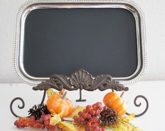 Fall Wedding Chalkboards The ORIGINAL Tres Chic Magnetic Chalkboard  Message Menu  Harvest Thanksgiving Kitchen  Office Fall Decoration
