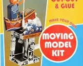 Card Automata Model Kits Super Pack - 4 different models & a signed copy of a drawing.