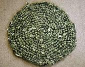 So Elegant:  Satiny Crocheted Rag Rug