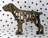 German Shorthaired Pointer Handmade Dog Jigsaw Puzzle
