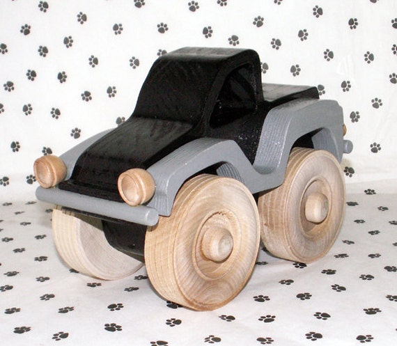 Handmade Wooden Toy Pickup Truck by dogWoodbyDave on Etsy