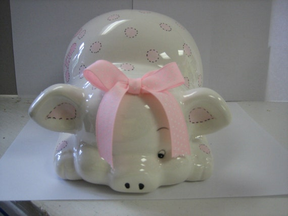 Personalized Piggy  Bank  - Custom Listing for Sherna NIhalani