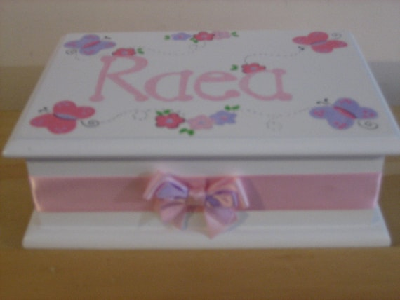 Personalized Musical Jewelry Box - ribbon and bow only