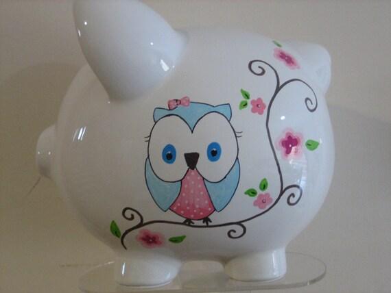 Personalized Large Piggy BAnk- Custom Listing