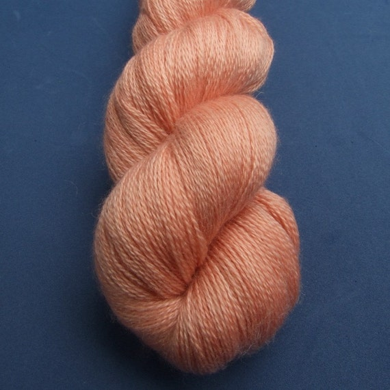 English Rose Silky Lace Yarn.
