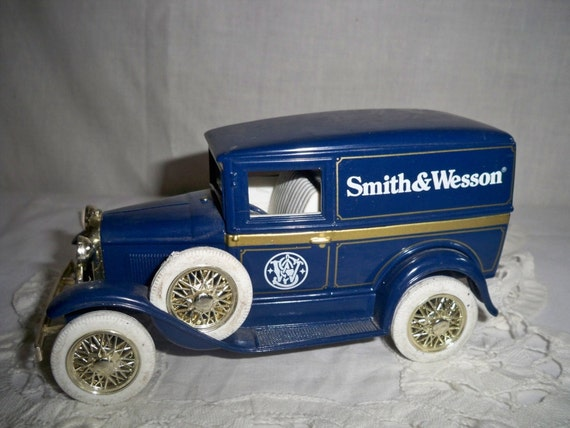 Liberty Classics Collectible Ford Model A Panel Truck Bank - Reserved for Ron