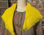 60s Yellow Durlyne Scarf