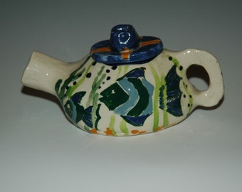 Little Fishies Decorative Teapot